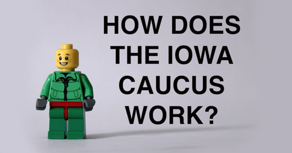 How The Iowa Caucus Works, In 2 Minutes (Starring Legos)