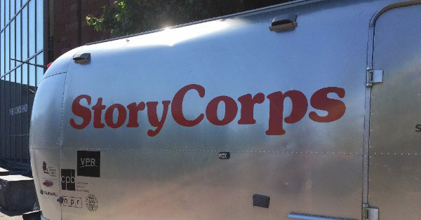 StoryCorps in Vermont